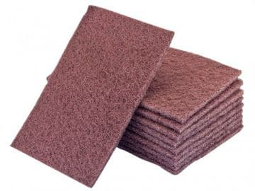 Hand Pads Maroon Very Fine 230 x 150mm (Pack 10)